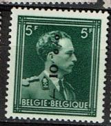 724F  *  Surch. Dendermonde - 1946 -10%
