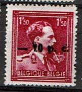 724N  *  Surch. Montignies Sur Sambre - 1946 -10%