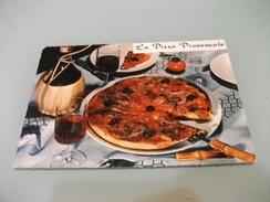 LA PIZZA PROVENCALE  CON FISCO VINO ROSSO NICE NIZZA - Ricette Di Cucina