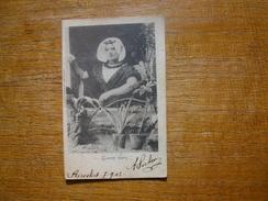 "Goesche Boerin """" Carte Envoyée De Biervliet En 1902 """" Portrait De Femme """" - Netherlands"