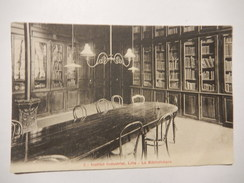 CPA (59) - INSTITUT INDUSTRIEL - LILLE - LA BIBLIOTEQUE - SIMI BROMURE - R5904 - Lille