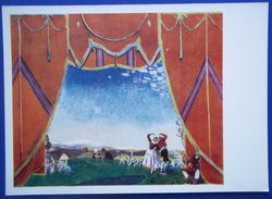 """12632 A.Golovin. Sketch Of The Decor For The Ballet """"Jota Of Aragon"""". Music By M.Glinka - Paintings"""