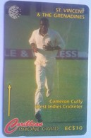 St Vincent 199CSVD Cameron Cuffy $10 - St. Vincent & The Grenadines