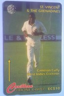 St Vincent 243CSVD Cameron Cuffy $10 - St. Vincent & The Grenadines