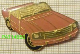 FORD  MUSTANG Cabriolet  Rose En Version EPOXY - Ford