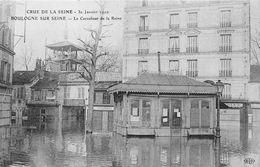 Boulogne Billancourt Inondation Crue De La Seine 1910 - Boulogne Billancourt