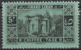 Taxe N° 15 - X - ( C 1009 ) - Grand Liban (1924-1945)