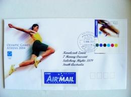 Cover Australia Olympic Games Athens 2004 Special Cancel Salisbury Sport - 2000-09 Elizabeth II