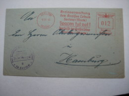 Firmen Freistempel , Meterstempel Auf Beleg Aus   Seelow  1943 - Deutschland
