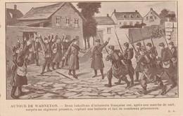 COMINES - WARNETON - Deux Bataillons D' Infanterie Française Ont,après Une Marche De Nuit, Surpris Un Régiment Prussien - Comines-Warneton - Komen-Waasten