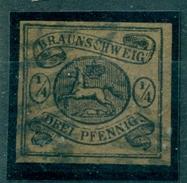 Braunschweig. Wappen Von Braunschweig, Nr. 4 Gestempelt - Braunschweig