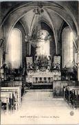 18 - SAINT LOUP Des CHAUMES -- Intérieur De L'Eglise - Other Municipalities