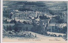 CARTE POSTALE  MALZIEU-VILLE 48  Vue Générale - Otros Municipios