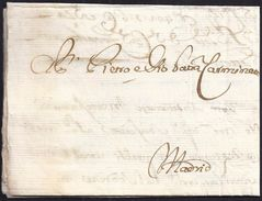 1669. VENETIA TO MADRID. VERY FINE EARLY COVER. - Italien