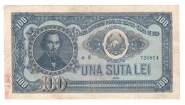 Romania 100 Lei 1952 - Romania