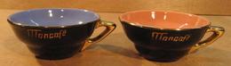 2 TASSES MONCAFE MON CAFE - Tasses