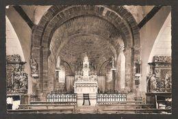 - MARCHASTEL (Cantal) Intérieur De L'église, Les Rétables - Voyagé En 1955 - Autres Communes