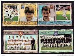 GRENADINES ST VINCENT Cricket, Yvert N° 386/91 ** MNH. - Cricket