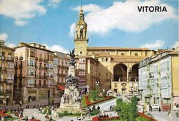 A838 - POSTAL - VITORIA - PLAZA DE LA VIRGEN BLANCA - Álava (Vitoria)