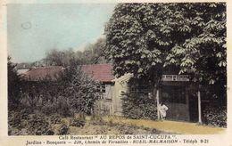 """CPA - Café - Restaurant  """" AU REPOS De SAINT - CUCUFA """"  226 Chemin De Versailles - RUEIL - MALMAISON  (92) - Rueil Malmaison"""