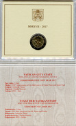 2017 - PONTIFICATO DI PAPA FRANCESCO - MONETA COMMEMORATIVA 2 EURO - ANNO 2017 - Vaticano (Ciudad Del)