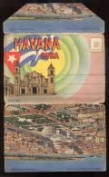 B3574 PAMPHLET 18 VISTAS DE HAVANA - Cuba
