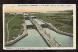 B3588 PANAMA CANAL - GATUN LOCKS - Panama