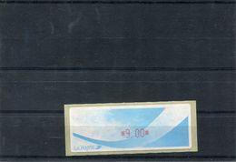 France 1 Vignette Distributeurs Type B LISA N°YT 189 - 9.00 - 1988 «Comète»