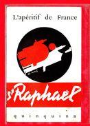 PUBLICITE-CPSM ST-RAPHAEL QUINQUINA - L'APERITIF DE FRANCE - Publicité