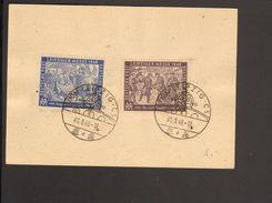 SBZ .16 U.50 Pfg.Leipziger Herbstmesse Mit Sonderstempel Windrose UB D 1948 Auf Ganzsache P 31 - Zone Soviétique