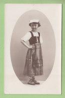 SAINT JEAN DE MAURIENNE : Costume De Savoie. Carte Photo Léger à St Jean. 2 Scans. Carte Photo - Saint Jean De Maurienne