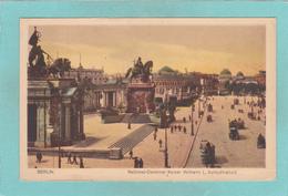Old Postcard Of National Denkmal Kaiser Wilhelm, Berlin, Germany.,Q41. - Deutschland