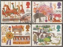 Grea Britain 1983 1227-30 British Fairs Fine Used - 1952-.... (Elizabeth II)