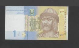 Ukraine 1 (UAH) HRYVNI 2014. Pick Sign.GONTAREVA - Ukraine