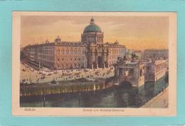 Old Postcard Of National-Denkmal, Berlin, Germany.,Q41. - Deutschland
