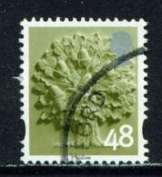 ENGLAND  -  2003+  Oak Tree  48p  White Border  Used As Scan - England