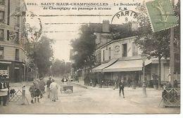 94    Saint-maur-champignolles      Boulevard De Champigny Au Passage à Niveau - Saint Maur Des Fosses