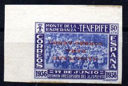 Viñeta Nº 34SI  Monte De La Esperanza Tenerife. - Viñetas De La Guerra Civil