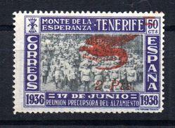 Viñeta Nº 37  Monte De La Esperanza Tenerife. - Viñetas De La Guerra Civil