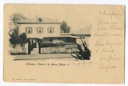AK Schweiz GE Genève Clinique Chemin Beau-Séjour Exp. Genève 9-9-1909 Photo A.Detraz - GE Geneva
