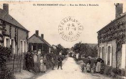 HENRICHEMONT RUE DES BILLETS A  BOISBELLE TRES ANIMEE - Henrichemont
