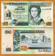 Belize 10 Dollars 2007 Pick 68c UNC - Belize