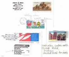 USA 1979-1991, 4 Postkarten Mit Druckmarken - Ganzsachen