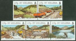St. Helena 1995, Harpers Earth Dam Mi.# 652-656, MNH / ** - St. Helena