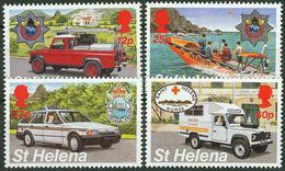 St. Helena 1995, Police Nurse Fire Service Mi.# 648-651, MNH / ** - St. Helena