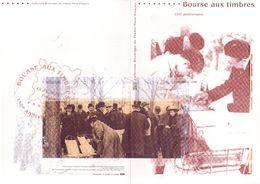 """2010 """" BOURSE AUX TIMBRES / YVERT MAURY """" Sur Doc Officiel 1°Jour De 4 Pages. N° YT F4447. DPO - 2010-...."""