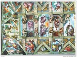 VATICANO - VATICAN CITY - VATICAN: 2008 CAPPELLA SISTINA - 4 SCHEDE NUOVE IN FOLDER (NN.158-161) - Vatican