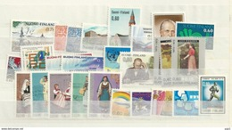 1973 MNH Finland, Year Complete According To Michel, Postfris - Finland