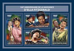 Centrafrica 2017, Music, Ella Fitzgerald, M. Monroe, 4val In BF - Film