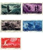 Ref. 59472 * MNH * - EGYPT. 1961. 9th ANNIVERSARY OF THE REVOLUTION . 9 ANIVERSARIO DE LA REVOLUCION - Egypt